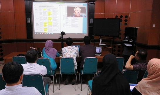 USAID-HELM Gelar Coaching Call LEEAP di Universitas Andalas
