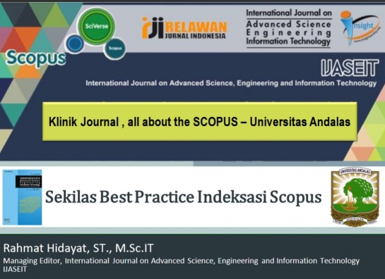 Jurnal Menuju Index Scopus